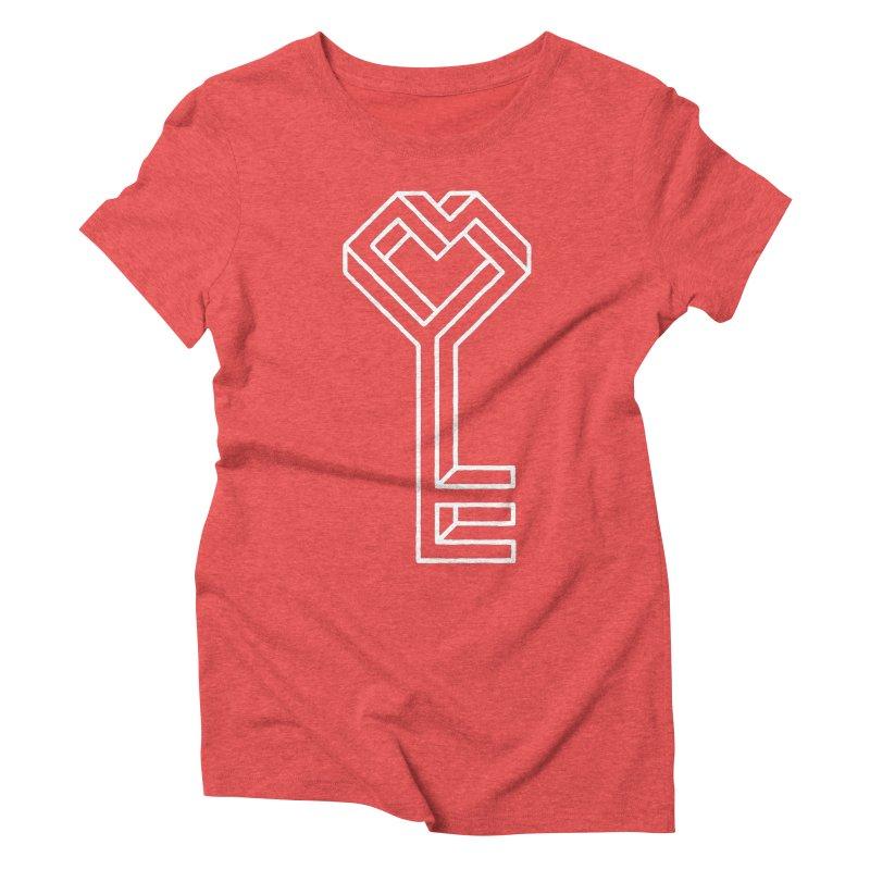 Key to the Kingdom Women's Triblend T-shirt by dayswideawake