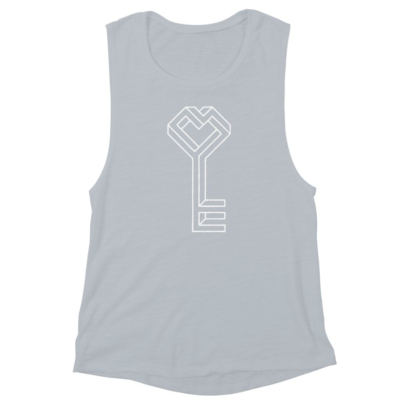 Key to the Kingdom Women's Muscle Tank by dayswideawake