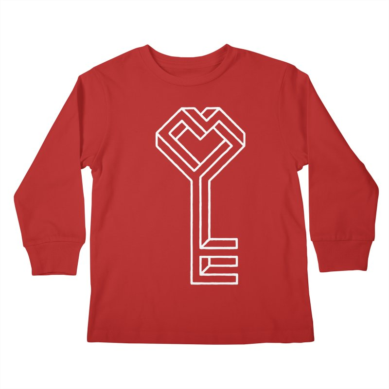 Key to the Kingdom Kids Longsleeve T-Shirt by dayswideawake