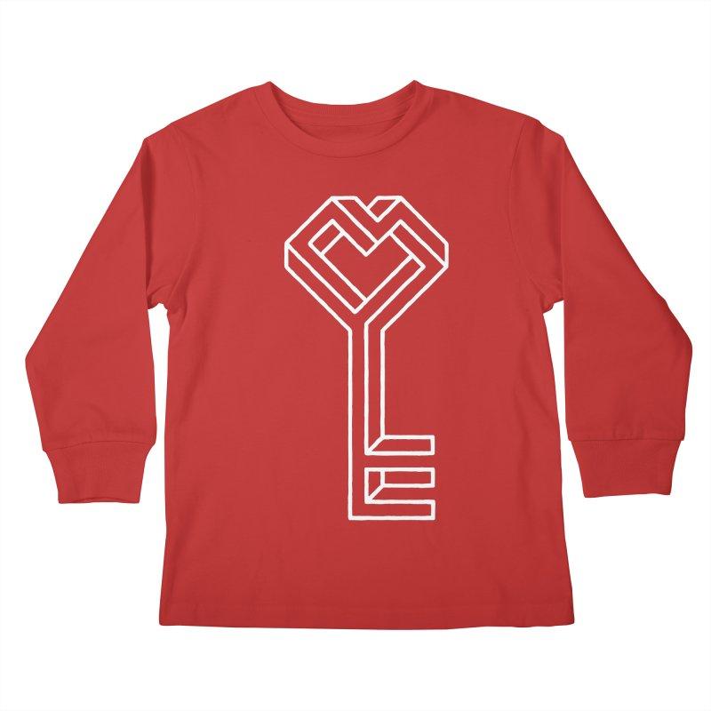 Key to the Kingdom Kids Longsleeve T-Shirt by dayswideawake