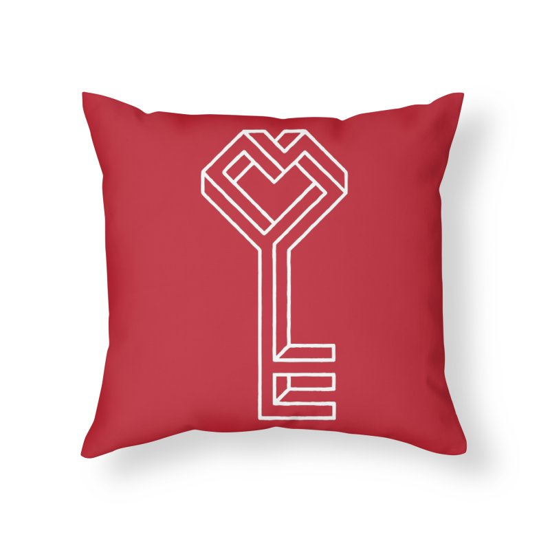 Key to the Kingdom Home Throw Pillow by dayswideawake