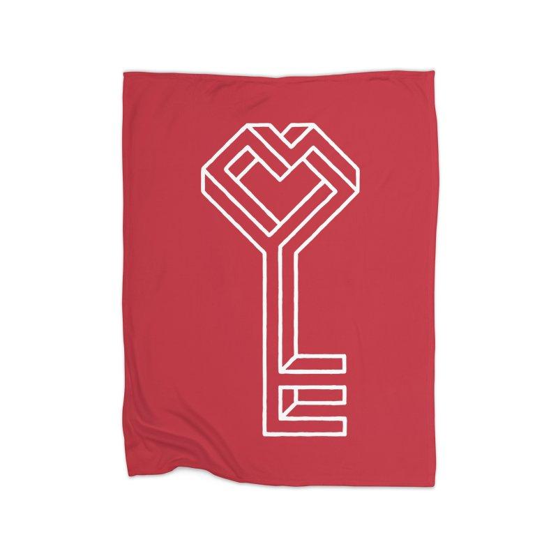 Key to the Kingdom Home Blanket by dayswideawake