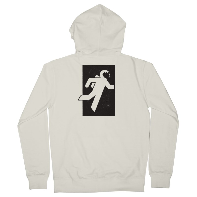 Space Exit Women's Zip-Up Hoody by dayswideawake