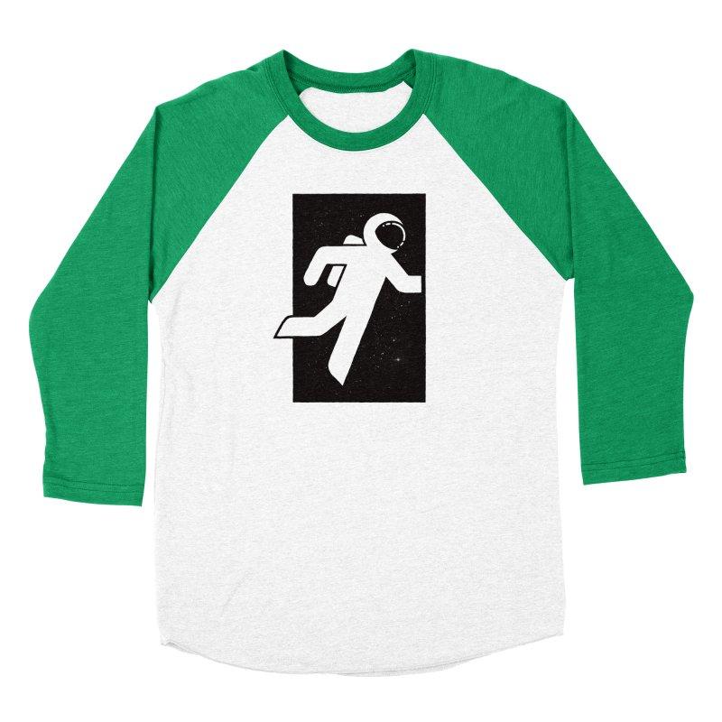 Space Exit Women's Baseball Triblend T-Shirt by dayswideawake