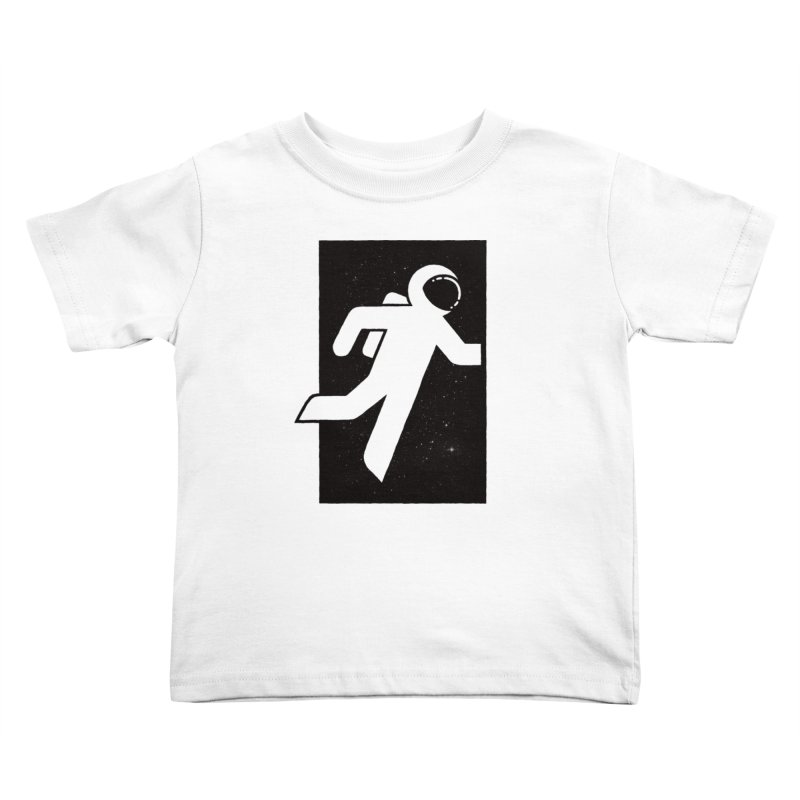 Space Exit Kids Toddler T-Shirt by dayswideawake