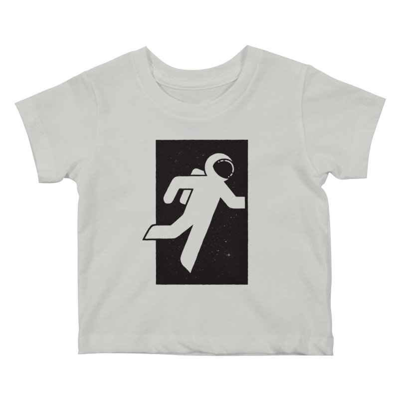 Space Exit Kids Baby T-Shirt by dayswideawake