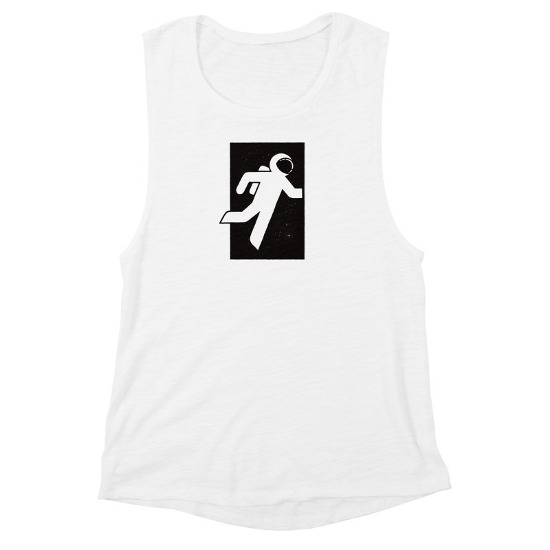Space Exit Women's Muscle Tank by dayswideawake
