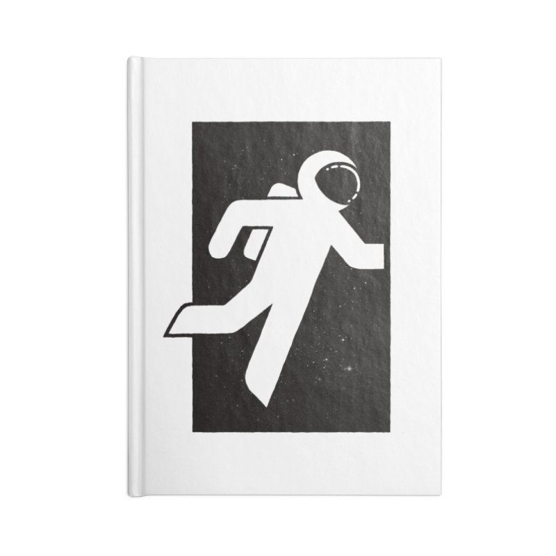 Space Exit Accessories Notebook by dayswideawake