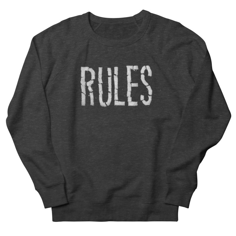 Broken Rules Men's Sweatshirt by dayswideawake