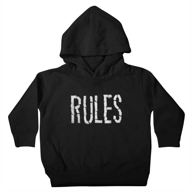 Broken Rules Kids Toddler Pullover Hoody by dayswideawake