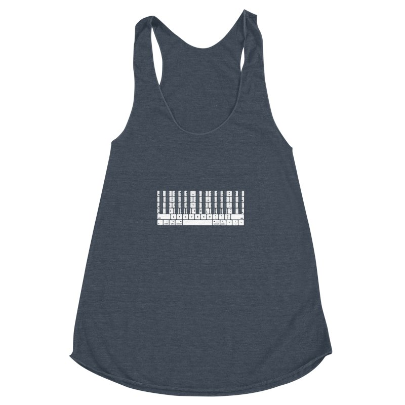 A type of music Women's Racerback Triblend Tank by dayswideawake
