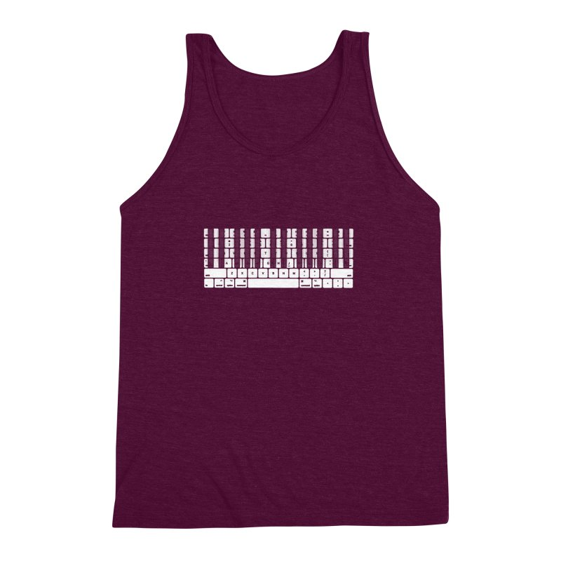 A type of music Men's Triblend Tank by dayswideawake