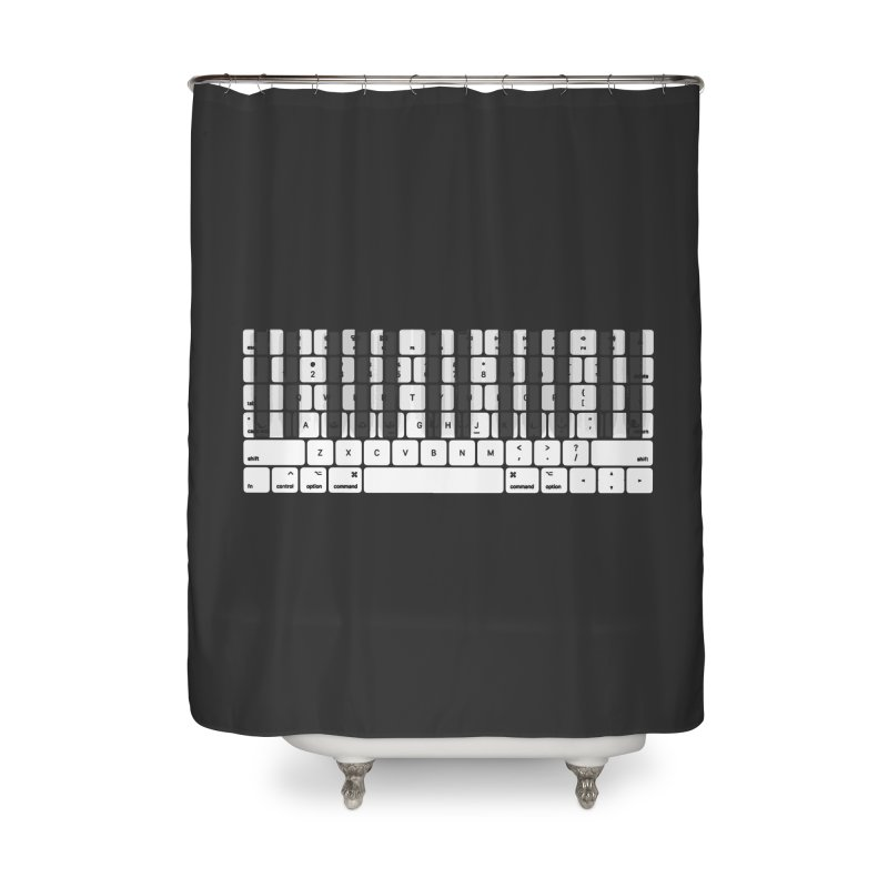 A type of music Home Shower Curtain by dayswideawake