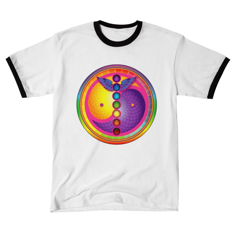 Colorful Chakra Mandala Women's T-Shirt by DB Stevens' Shop