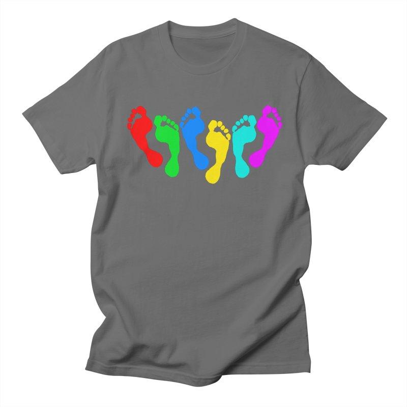 6 FEET Social Distancing Reminder on White Men's T-Shirt by DB Stevens' Shop