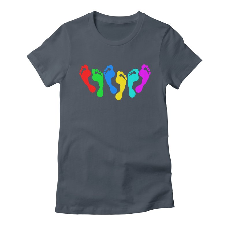 6 FEET Social Distancing Reminder on White Women's T-Shirt by DB Stevens' Shop