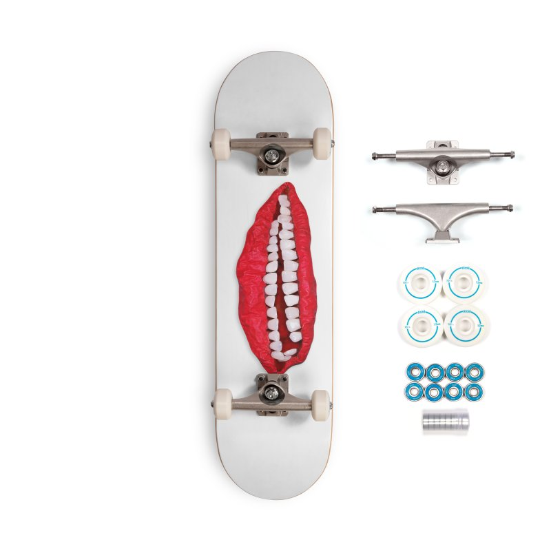 Toothy Lips Accessories Skateboard by DB Stevens' Shop