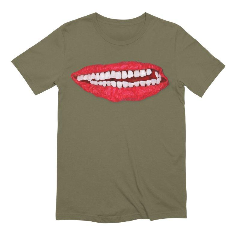 Toothy Lips Men's T-Shirt by DB Stevens' Shop