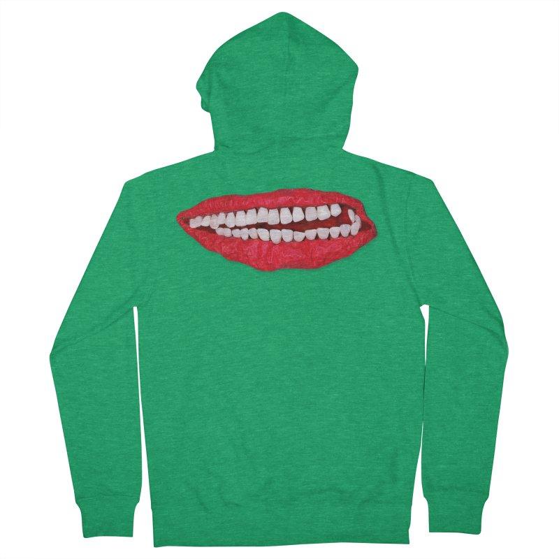 Toothy Lips Men's Zip-Up Hoody by DB Stevens' Shop