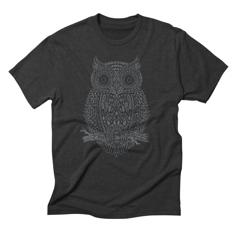 Hoot Men's Triblend T-Shirt by DCAY