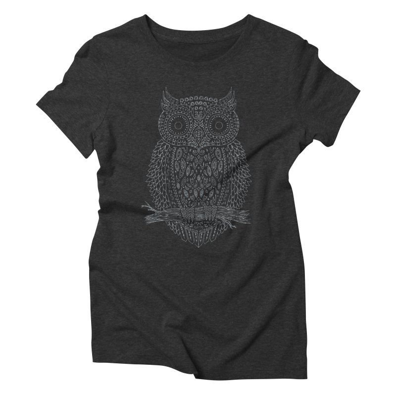 Hoot Women's Triblend T-shirt by DCAY