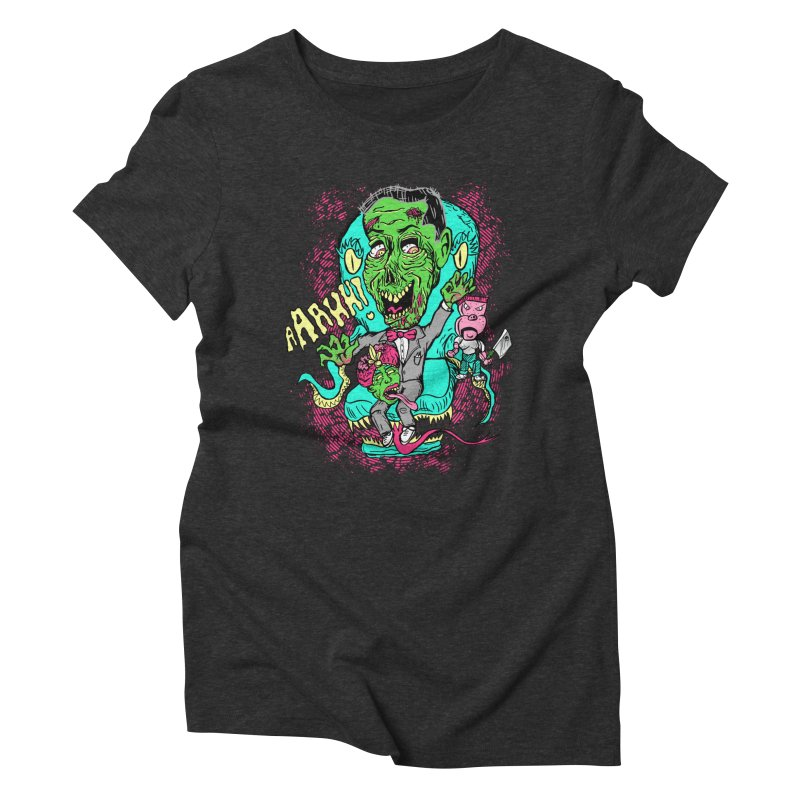 Zom-Bee Herman Women's Triblend T-shirt by DCAY