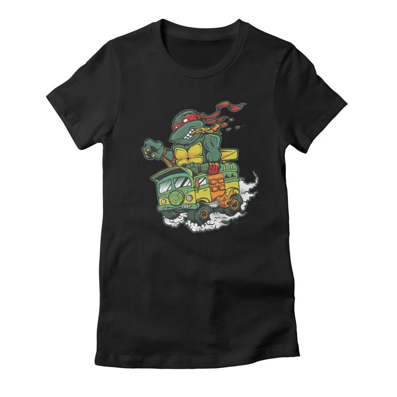 Raph Fink Women's Fitted T-Shirt by DCAY
