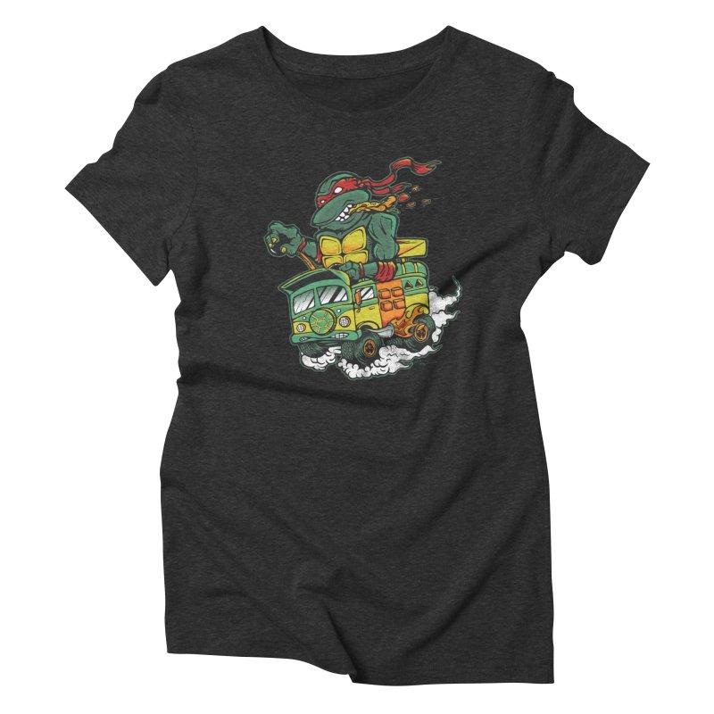 Raph Fink Women's Triblend T-Shirt by DCAY