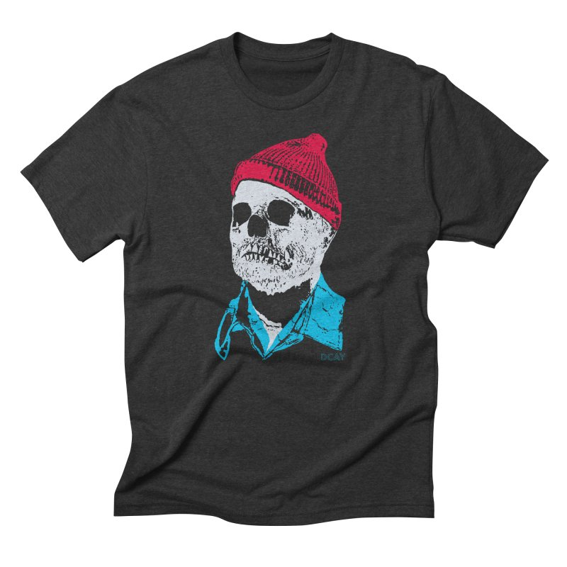 The Dead man and the Sea Men's Triblend T-Shirt by DCAY