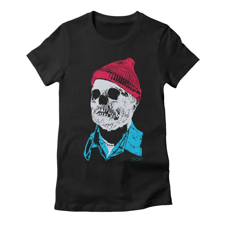 The Dead man and the Sea Women's Fitted T-Shirt by DCAY