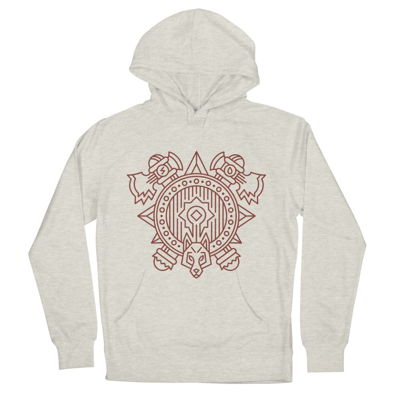 Orc - World of Warcraft Crest Women's French Terry Pullover Hoody by dcmjs