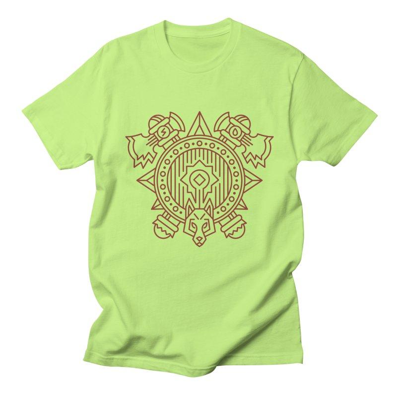 Orc - World of Warcraft Crest Men's T-Shirt by dcmjs