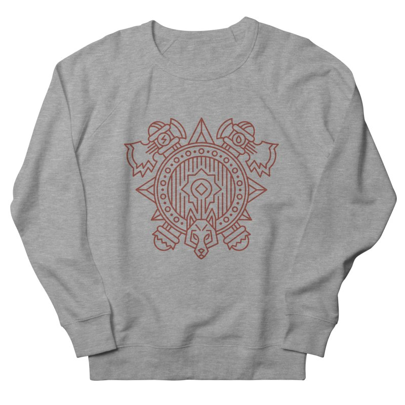 Orc - World of Warcraft Crest Women's French Terry Sweatshirt by dcmjs