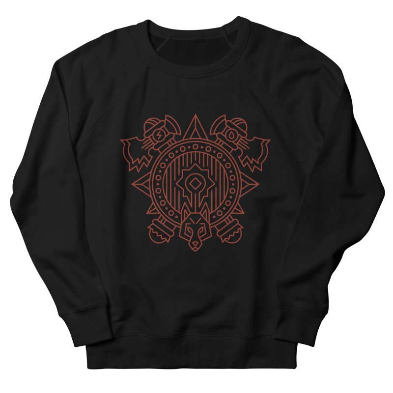 Orc - World of Warcraft Crest Men's French Terry Sweatshirt by dcmjs