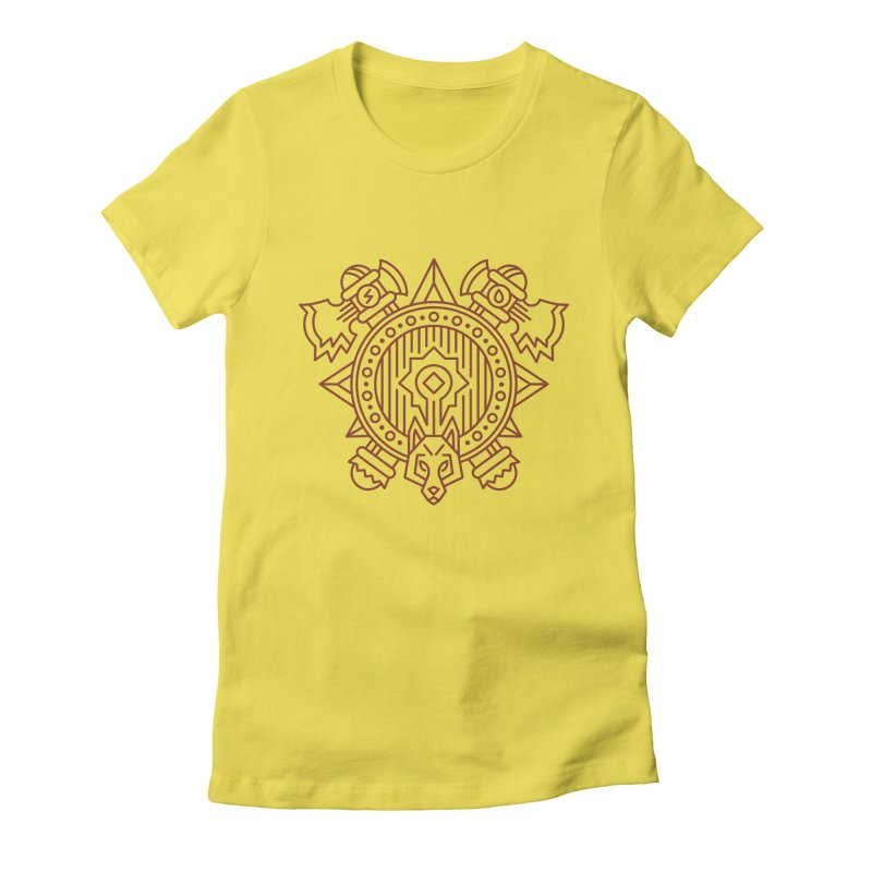 Orc - World of Warcraft Crest Women's T-Shirt by dcmjs