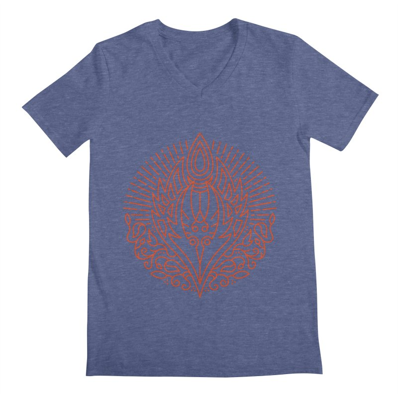Blood Elf - World of Warcraft Crest Men's V-Neck by dcmjs