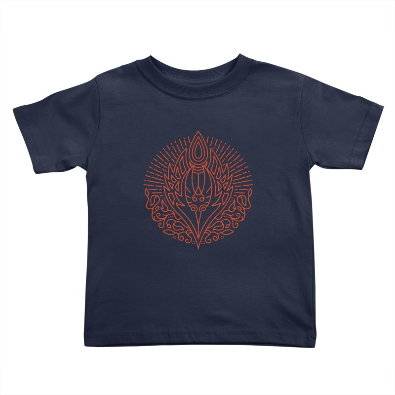 Blood Elf - World of Warcraft Crest Kids Toddler T-Shirt by dcmjs