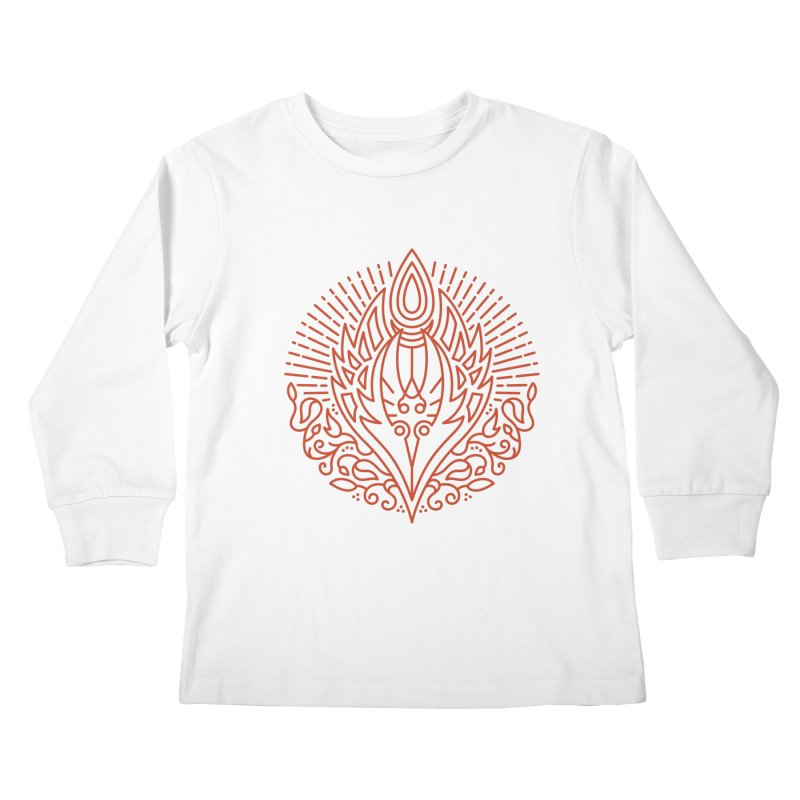 Blood Elf - World of Warcraft Crest Kids Longsleeve T-Shirt by dcmjs