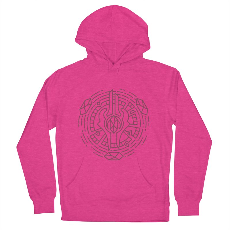 Draenei - World of Warcraft Crest Women's French Terry Pullover Hoody by dcmjs