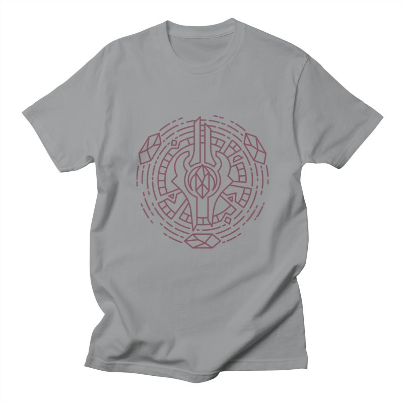 Draenei - World of Warcraft Crest Men's T-Shirt by dcmjs
