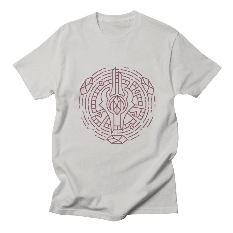 Draenei - World of Warcraft Crest Men's Regular T-Shirt by dcmjs