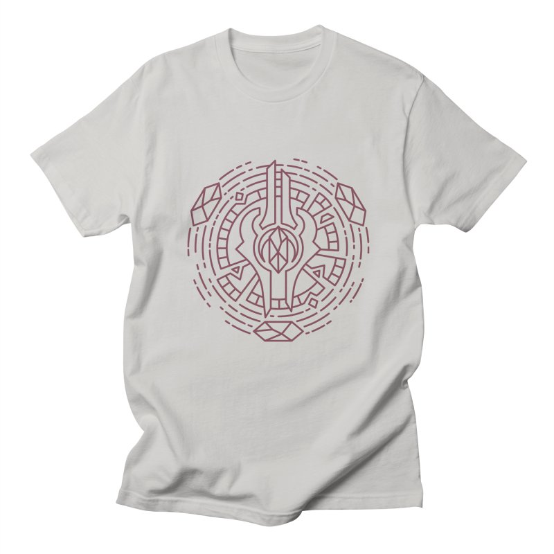 Draenei - World of Warcraft Crest Men's T-Shirt by dcmjs