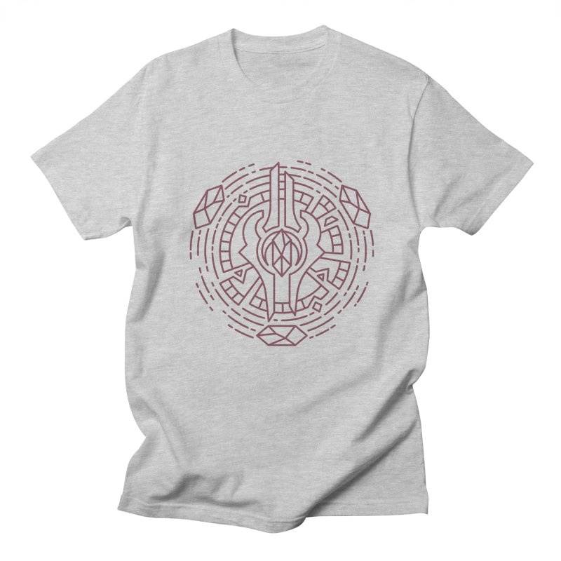 Draenei - World of Warcraft Crest Men's Regular T-Shirt by dcmjs