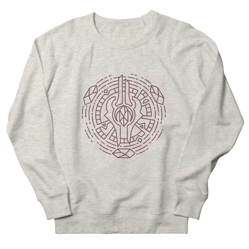 Draenei - World of Warcraft Crest Women's French Terry Sweatshirt by dcmjs
