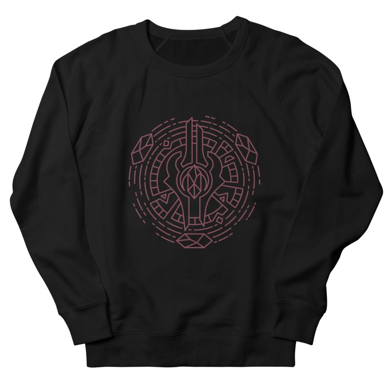 Draenei - World of Warcraft Crest Men's French Terry Sweatshirt by dcmjs