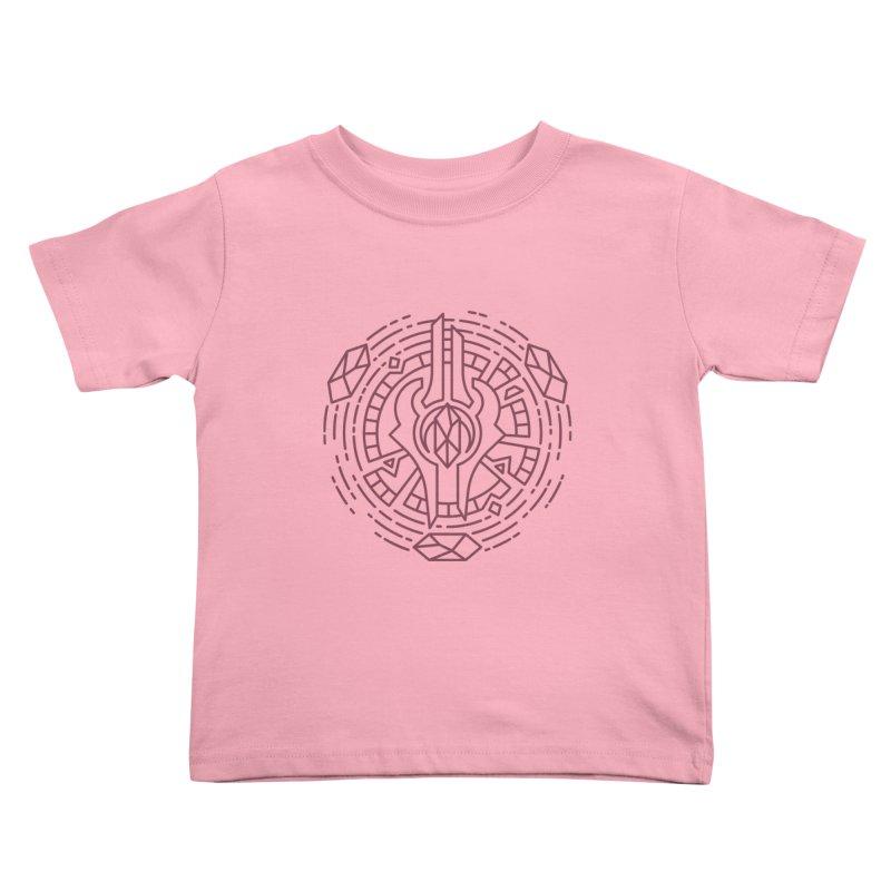 Draenei - World of Warcraft Crest Kids Toddler T-Shirt by dcmjs