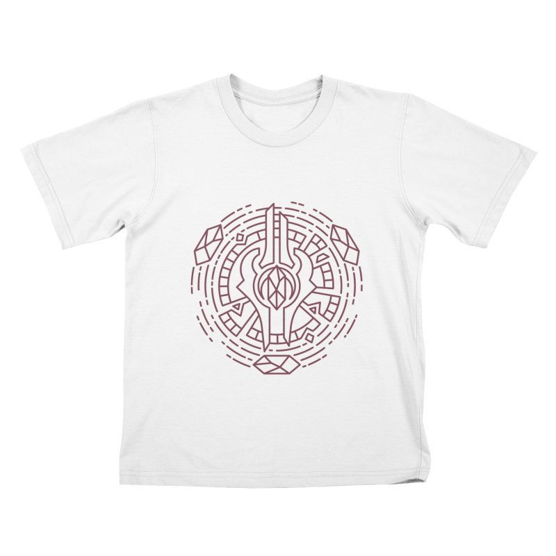 Draenei - World of Warcraft Crest Kids T-Shirt by dcmjs