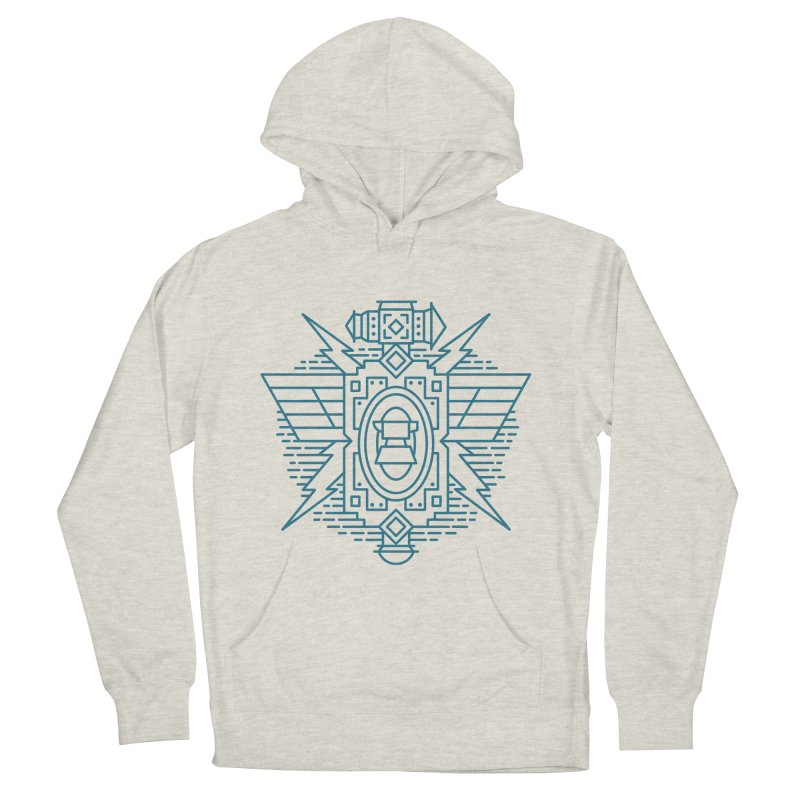 Dwarf - World of Warcraft Crest Women's French Terry Pullover Hoody by dcmjs