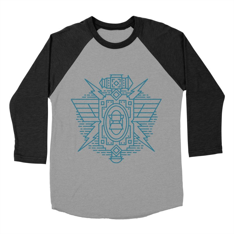 Dwarf - World of Warcraft Crest Women's Baseball Triblend Longsleeve T-Shirt by dcmjs