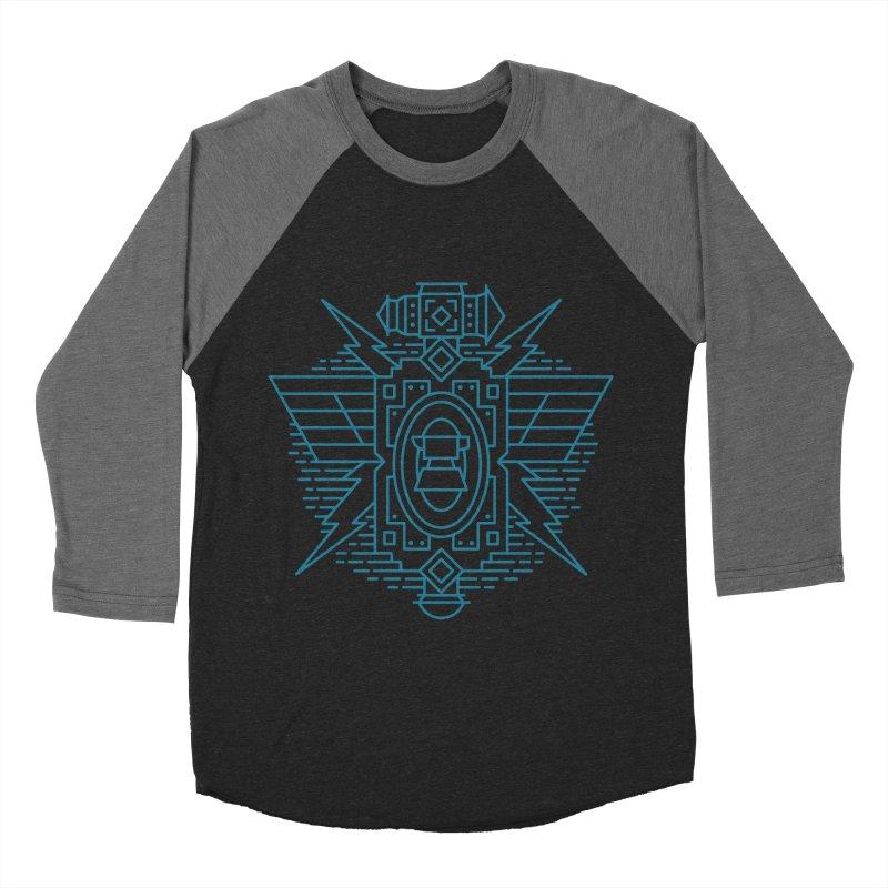 Dwarf - World of Warcraft Crest Men's Baseball Triblend T-Shirt by dcmjs